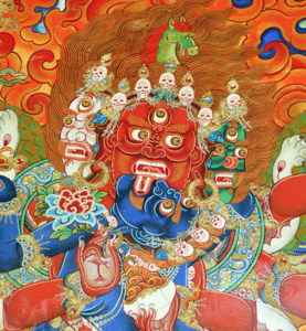 Hayagriva Tamdrin Embracing Vajrayogini Vajra Varahi