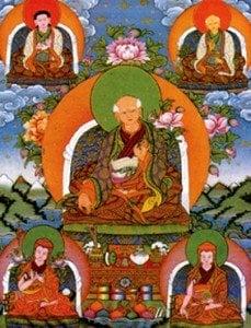 Sakya lineage holders founders