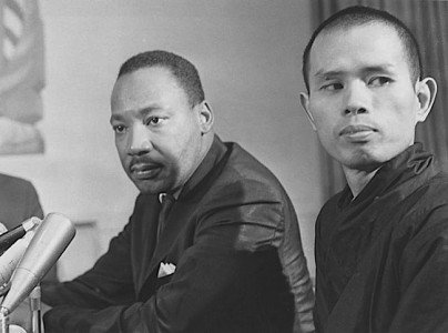 Buddha Weekly Thay and Martin Luther King 1 June 1966 Buddhism