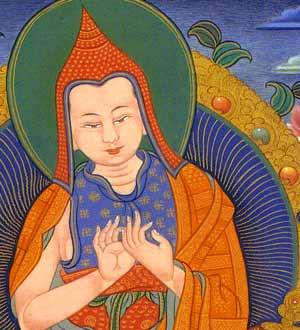 The great Enlightened Atisha.