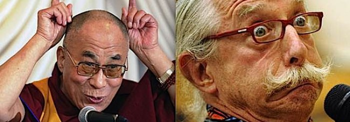What the Dalai Lama and Patch Adams Have in Common: Laughter, and Compassion, the Best Medicine