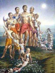 Reincarnation illustration