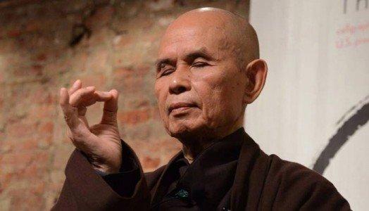 The Venerable zen teacher Thich Nhat Hanh