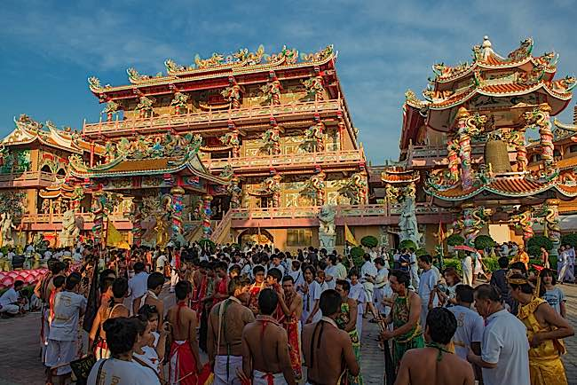 Chonguri Vegetarian Festival 2015 celebrates abstinence from meat.