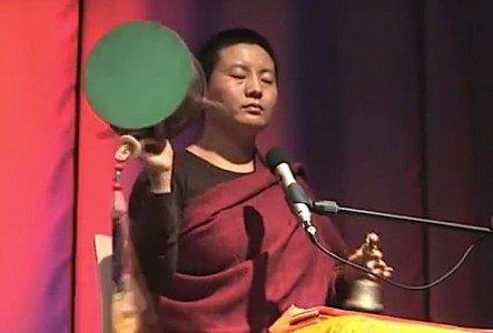 Buddha Weekly Ani Choying Drolma chod drum and chanting Buddhism