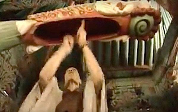 Buddha Weekly Drumming on the Temple Fishdrum Buddhism