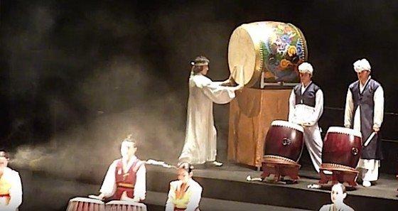 Buddha Weekly Korean Buddhist Drumming Performance Public Buddhism