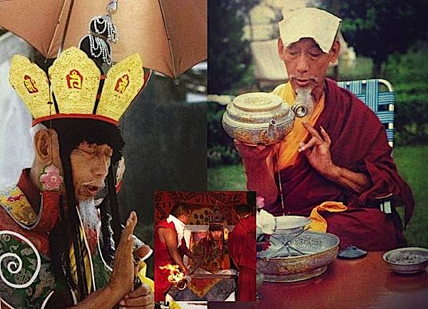 H.H. Kyabje Zong Rinpoche was Zasep Rinpoche's precious guru. Zong Rinpoch was also a teacher of the Dalai Lama.