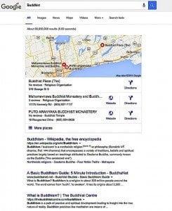 Buddha-Weekly-Buddhist Top Ten Google Search-Buddhism