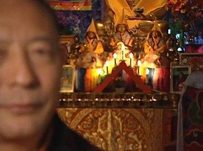 Buddha Weekly Zasep Tulku Rinpoche with altar Buddhism