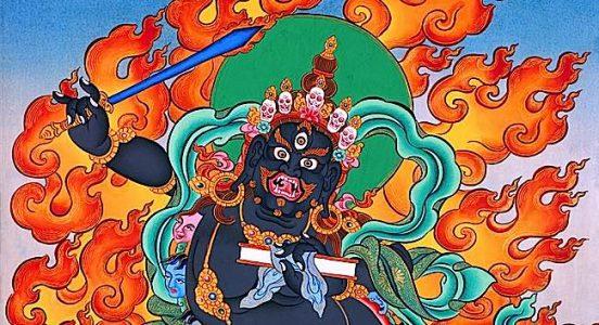 Buddha Weekly Close up Black Manjushri Buddhism