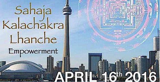 Buddha Weekly Kalachakra Lhanche Empowerment Toronto Buddhism
