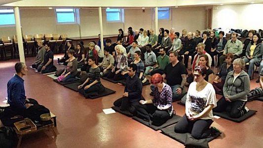 Buddha Weekly Theodore Tsaousidis teaching session Buddhism