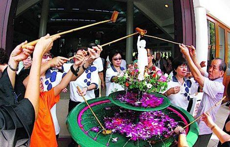 Buddha Weekly Bathing Buddha on Wesak Day Buddhism