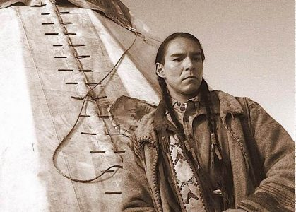 "Sean ""Walking Bear"" also stars in films. Shot on the set of HBO's HBO'S ""Bury My Heart at Wounded Knee."""