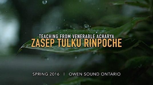 Buddha Weekly Teaching from Venerable Zasep Tulku Rinpoche part 1 Buddhism