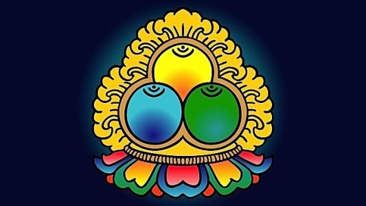 Buddha Weekly Three Jewels logo Buddhism