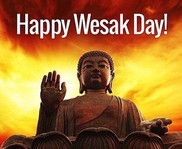 Happy Wesak Day from Buddha Weekly