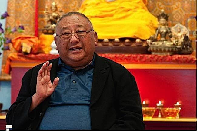 Gelek Rimpoche of Jewel Heart.