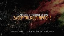 Video: Buddhist Teachings on Ngondro, The Foundation Practices with Venerable Zasep Rinpoche