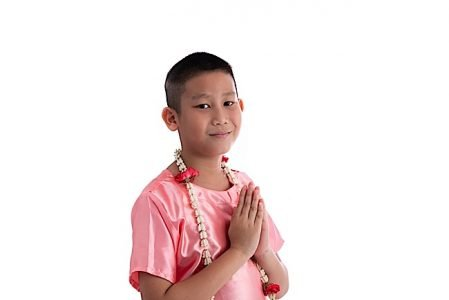 Buddha Weekly Anjali Mudra boy Buddhism
