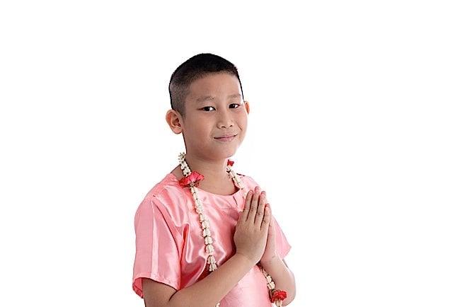 Anjali mudra is a universal buddhist greeting not namaste a the anjali mudra a universal and respectful gesture of greeting m4hsunfo