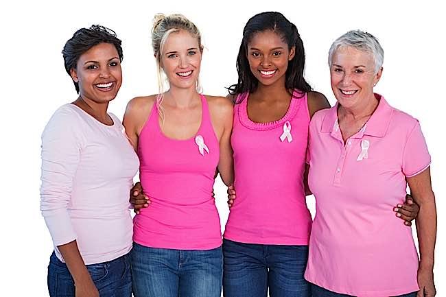 Buddha-Weekly-Breast Cancer Awareness Four Women-Buddhism