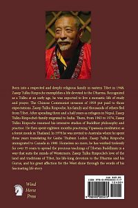 Buddha Weekly Back Cover A Tulkus Journey from Tibet to Canada Buddhism