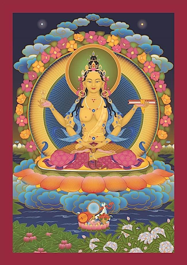 Prrajnaparamita, the Wisdom Mother.
