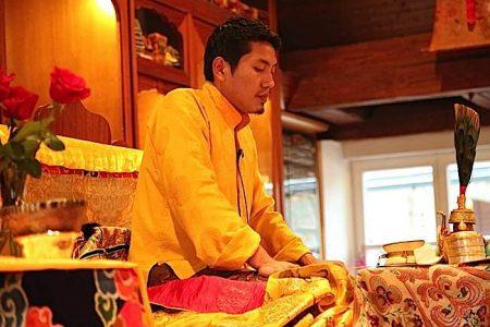 Buddha Weekly Trijang Rinpoche chod drum Buddhism