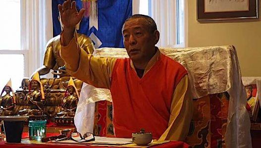 Buddha Weekly Zasep Rilnpoche teaching at Gaden Choling Buddhism