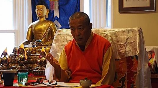 Buddha Weekly Zasep Rinpoche teaching Gaden Choling Buddhism