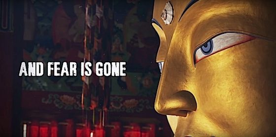 Buddha Weekly And Fear is Gone Let Freedom Reign Yoko Dharma Buddhism