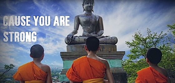 Buddha Weekly Cause You Are Strong Let Freedom Reign Yoko Dharma Buddhism