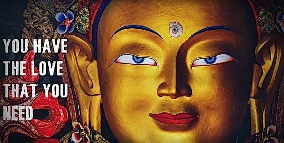 Buddha Weekly You have the love you need Teacher Yoko Dharma Buddhism