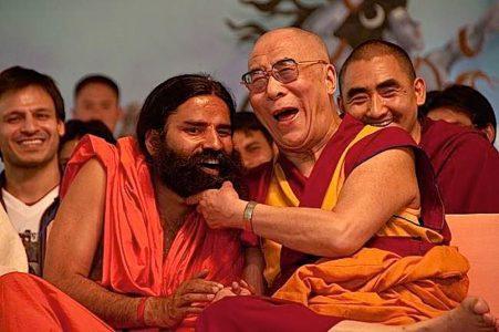 Buddha Weekly dalai lama laughing 2
