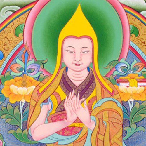 Lama Tsongkhapa completed 1 million mandala offerings.