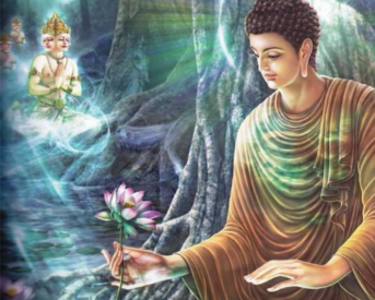 """""""If with a pure mind a person speaks or acts, happiness follows them like a never-departing shadow."""" Shakyamuni Buddha, Dhammapada"""