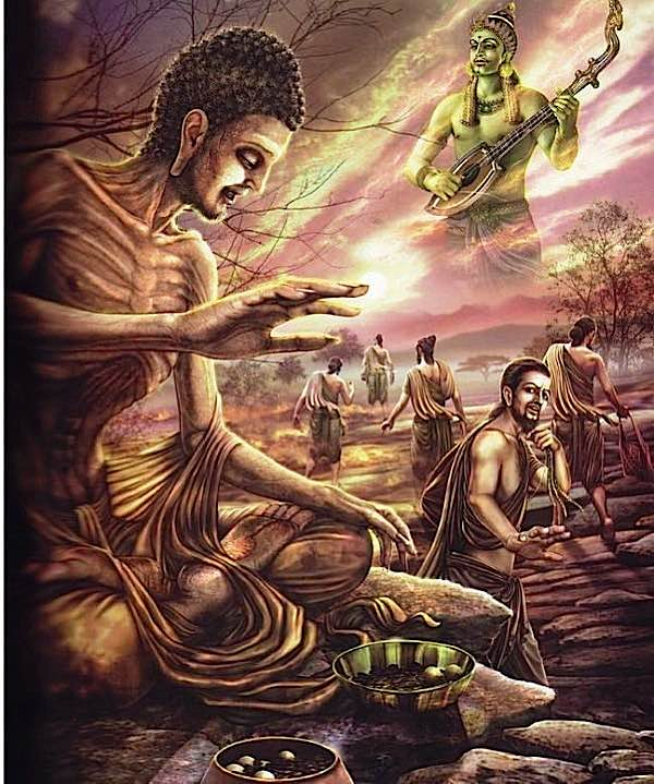 Buddha Weekly Aesetic Buddha starving Buddhism