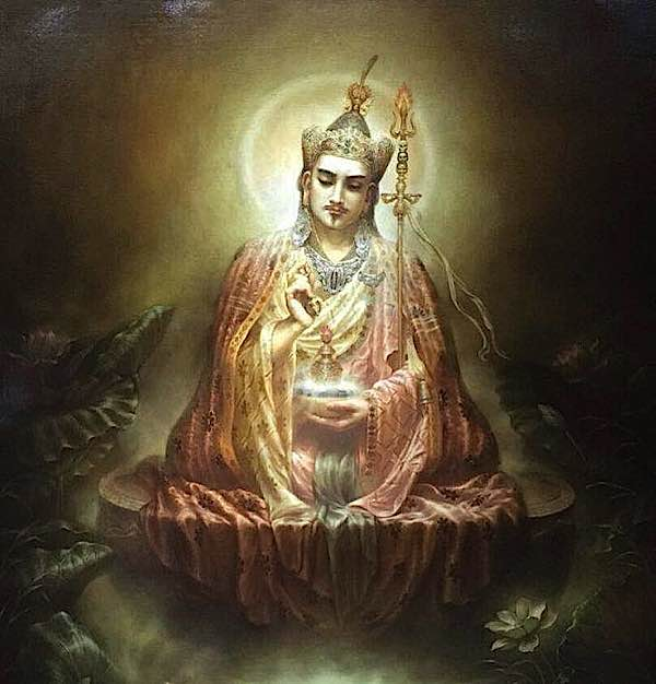 Buddha Weekly Beautiful Guru Rinpoche Buddhism