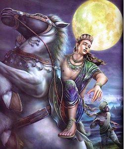 Buddha Weekly Buddha and Chandra horse Buddhism