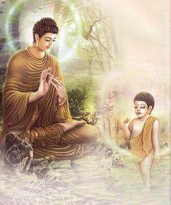 Buddha Weekly Buddha and child Buddhism