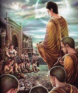 Buddha Weekly Buddha and the kneeling women Buddhism
