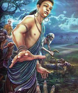 Buddha Weekly Buddha encounters old age Buddhism