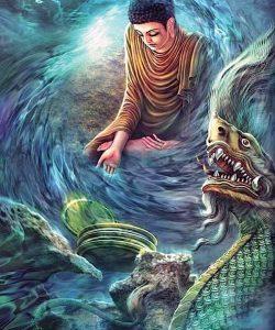 Buddha Weekly Buddha meditates and frightening images Buddhism