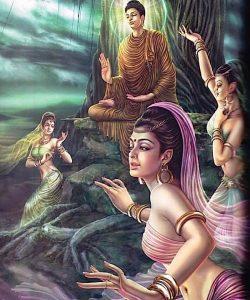 Buddha Weekly Buddha resists maras daughters Buddhism