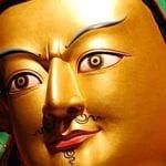 Buddha Weekly Guru Rinpoche Statue head horizontal Buddhism