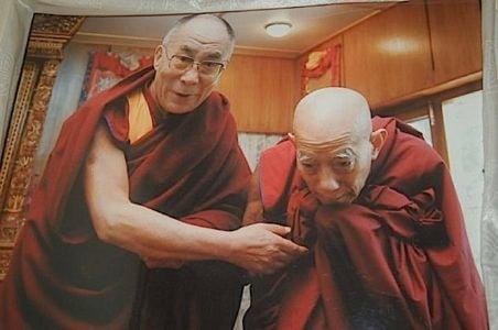 Buddha Weekly Lati Rinpoche with Dalai Lama Buddhism
