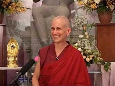 Buddha Weekly Thubton Chodron Teaching Buddhism