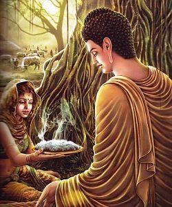 Buddha Weekly Woman offers Buddha Rice Buddhism